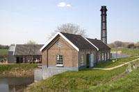 Gemaal Oude Rijn in Pannerden