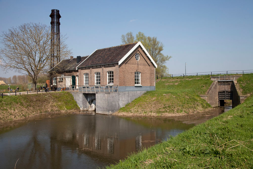 Gemaal Oude Rijn - Pannerden - IMG_0284 Regio Achterhoek - Liemers