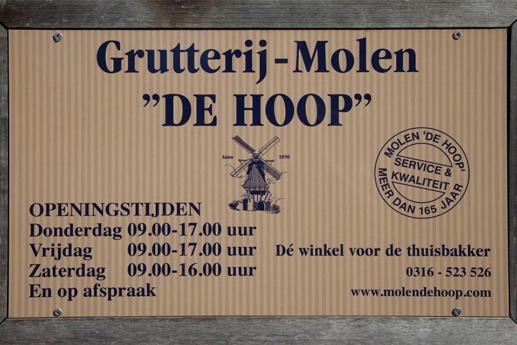 Molen de Hoop - Oud Zevenaar - IMG_0186 Regio Achterhoek - Liemers