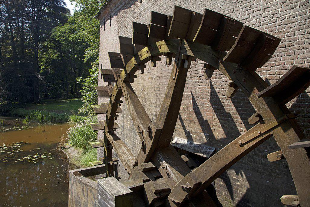 Watermolen Kasteel Hackfort - Vorden - IMG_3006 Regio Achterhoek - Liemers