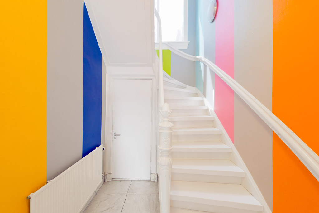 Villa Mondriaan - Winterswijk - Jan van der Ploeg, WALL PAINTING No.355, Untitled, 2014, 940 x 850 cm Regio Achterhoek - Liemers