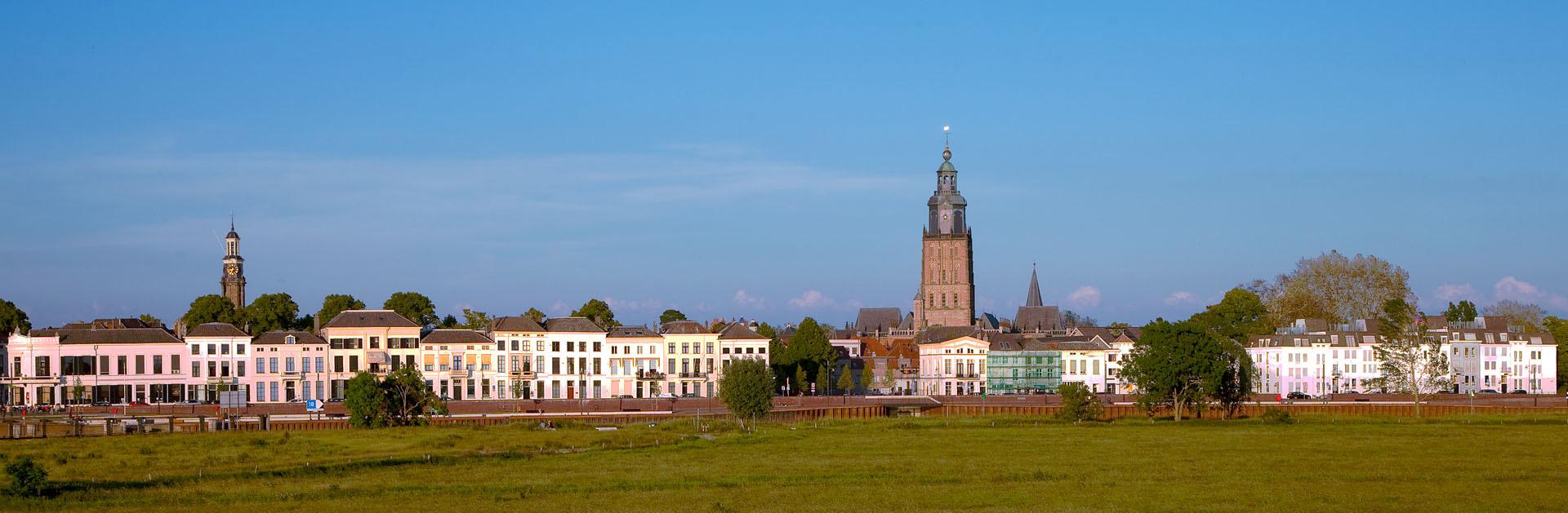 Panorama Zutphen - IJsselkade  Regio Achterhoek - Liemers