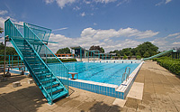 Openluchtzwembad De Paasberg in Terborg
